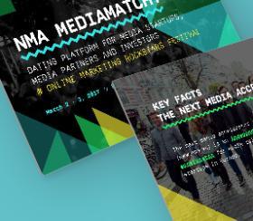 """Corporate Design für neues Startup-Event """"MediaMatch"""""""