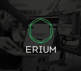 Brand Design für Industrie-4.0-Unternehmen Erium