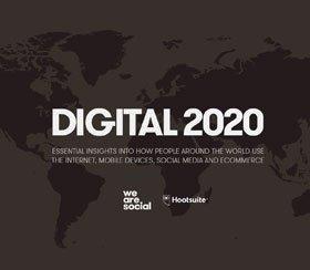 Digital Report 2020 von Hootsuite & We Are Social