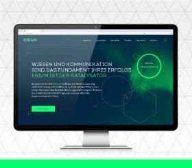 Neue Website für Technologieanbieter Erium