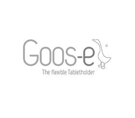 Free hands: Flexible tablet houlder 'Goos-e' makes life easier