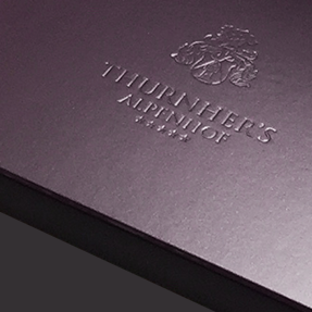(DE) Thurnher's Imagebroschüre