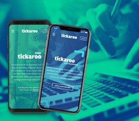 Website relaunch for Tickaroo