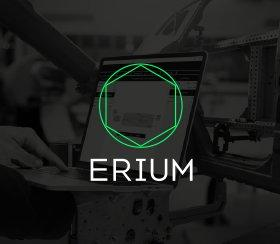 Brand design for the industry 4.0 company Erium
