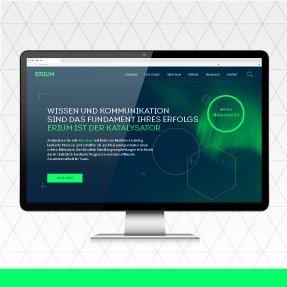 Erium Branding & Website